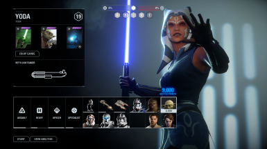 Ahsoka joins Instant action clone wars(Beta)