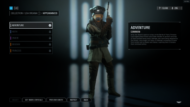 Leia Boushh as default