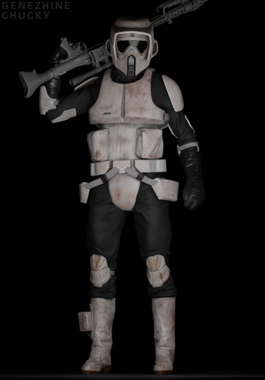 Imperial Remnant Scout Trooper