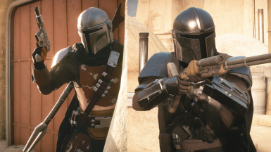 The Mandalorian Voiced (for Young Han or Finn)