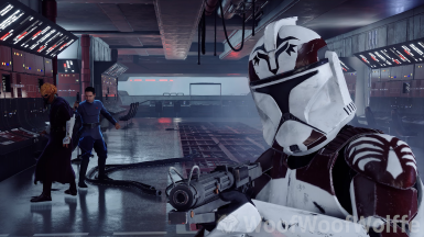 104th Phase 1 Maroon Markings and Officer Wolffe (Filming for WoofWoofWolffe Recreation)