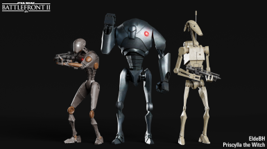 Clone wars Battle Droids