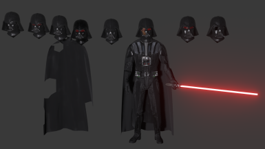 Clone Wars Rebels and Custom Vader Skin Pack