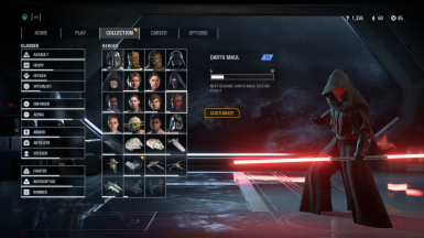 Darth Maul with a Hood