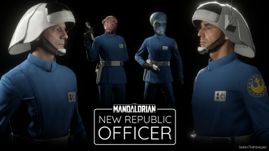 New Republic officer
