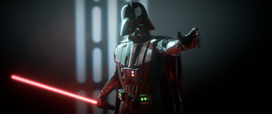 Darth Vader Re Texture With See Through Eye