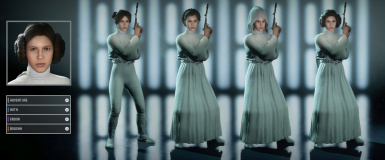Princess Leia Hooded Variations