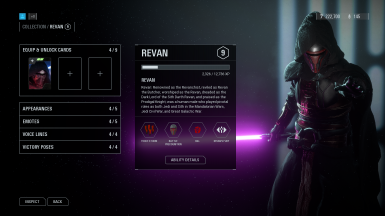 Revan - Text - UI and Ability Edits