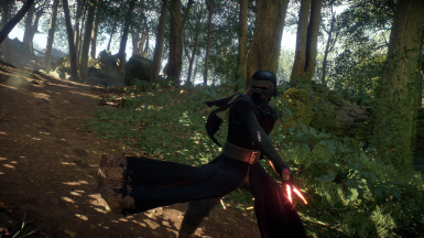 Kylo hood removal for first skin