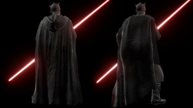 Darth Maul Caped Variations
