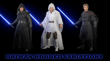 Obiwan Hooded Variations