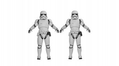 The Force Awakens Stormtroopers