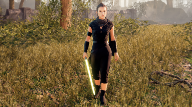 Rey Skywalker Dark Clothing