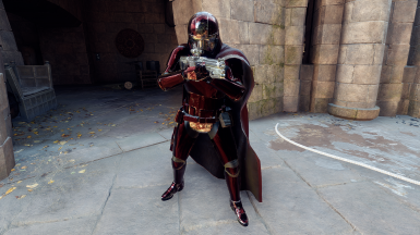 Updated Remnant Captain Phasma