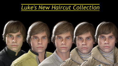 Luke's New Haircut Collection