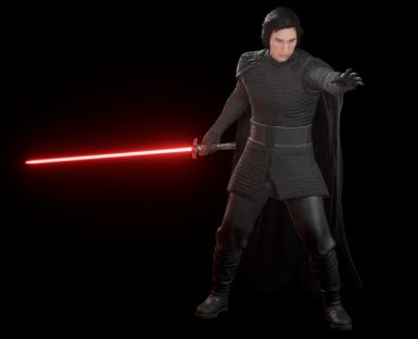 Stable blade for Kylo