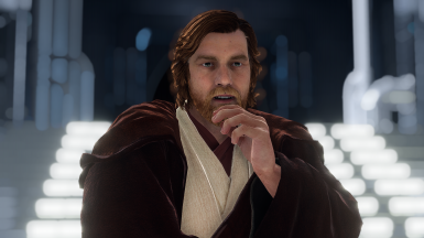 AOTC Hair for Obi-Wan