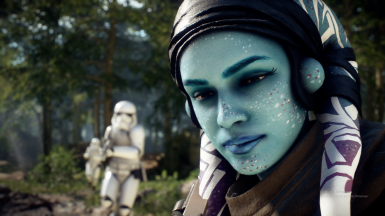 A star wars twilek jedi chick gets fucked with force - 2 3