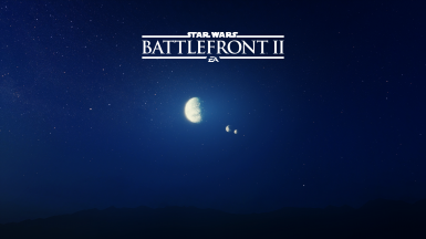 Night Tatooine 4K Title Screen