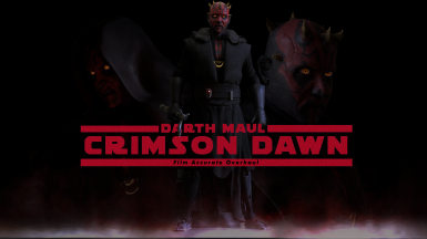 Maul Crimson Dawn Film Accurate Overhaul