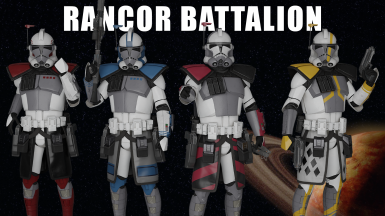 ARC Troopers of the Rancor Battalion