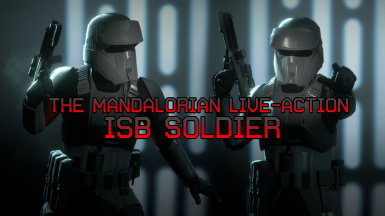 The Mandalorian Live-Action ISB Soldier