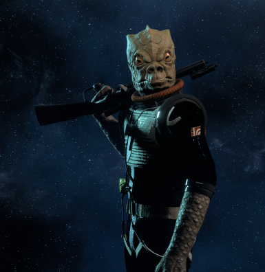 Bossk Imperial Black Jumpsuit At Star Wars Battlefront Ii