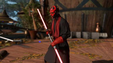 Darth maul Red Accessories