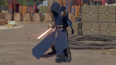 Blue And Silver Kylo Ren Skin
