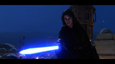 With Movie Accurate Anakin mod