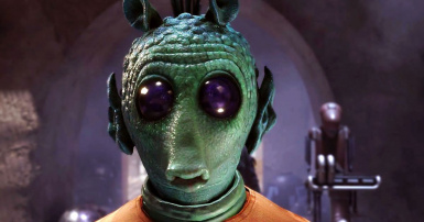 Greedo Text Replacement