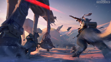 Hoth Concept Art Opening Screen