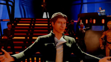 I'm Han Solo but it's the intro for every single Hero