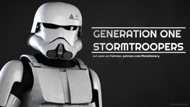 MankDemery's Generation One Stormtroopers
