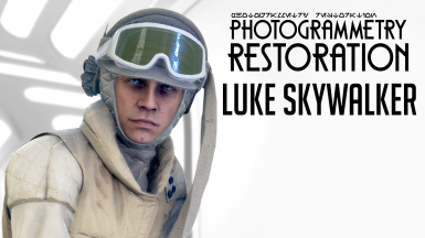 Photogrammetry Restoration - Luke Skywalker