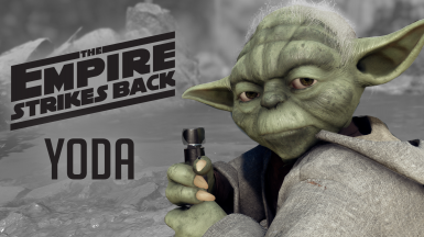 Moose's Empire Strikes Back Yoda