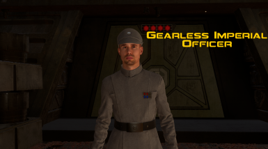 Gearless Imperial Officer