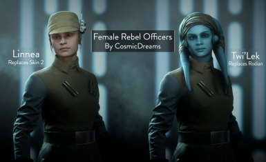 Female Rebel Officers