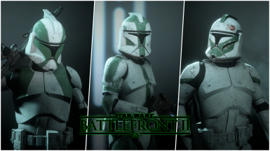 Commander Gree and Green Company at Star Wars: Battlefront