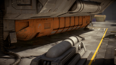 Orange Zeta-Class Shuttle Containers