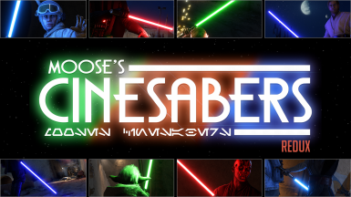 Moose's CineSabers (REDUX)