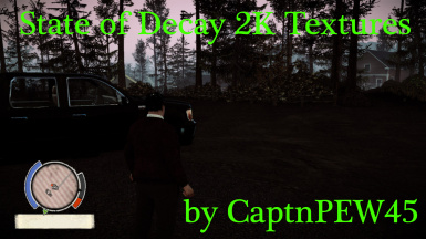 2K Textures for State of Decay
