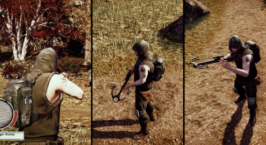 Daryl Dixon Mod and Realistic Crossbows Mod - FOR BREAKDOWN