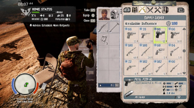 Add All Firearms to Supply Locker at State of Decay Nexus