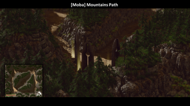 Moba Mountain Path