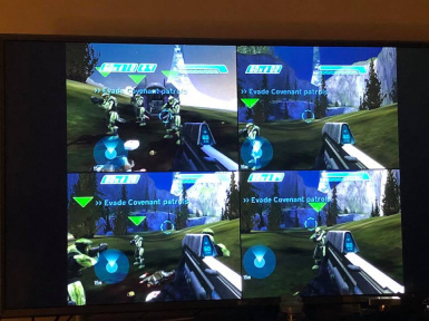 Halo 1 4 player splitscreen coop