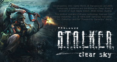 Support for S.T.A.L.K.E.R. Clear Sky