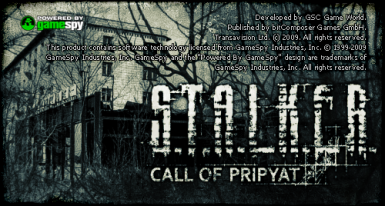 Support for S.T.A.L.K.E.R. Call of Pripyat
