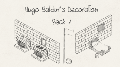 Hugo Baldur's Decoration Pack 1