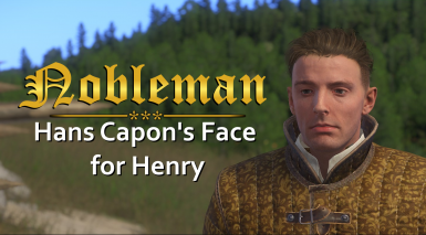 Nobleman - Hans Capon's face for Henry